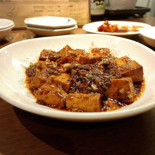 麻婆豆腐とご飯(52 (ゴニ))