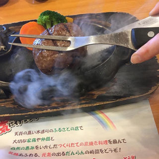 げんこつハンバーグランチ(炭焼きレストランさわやか 浜松高丘店 )