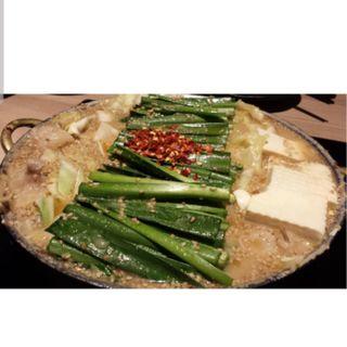 もつ鍋 味噌味(もつ鍋 おおやま 博多駅店 )