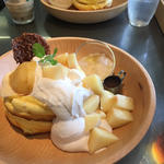 水蜜桃パンケーキ