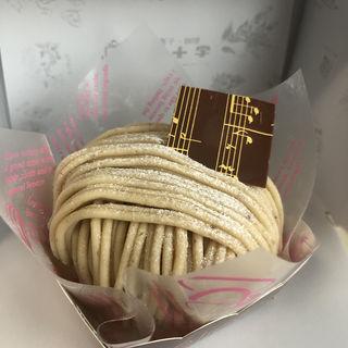 和栗のモンブラン(白十字 南口本店 (ハクジュウジ))