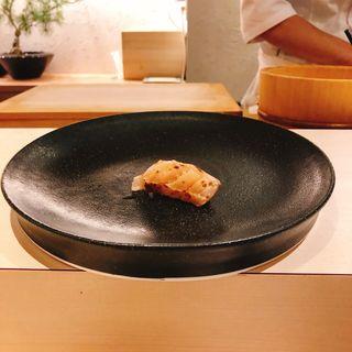 炙りトロの握り(鮨 青海)