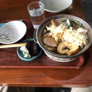 鍋焼きうどん(将門そば)