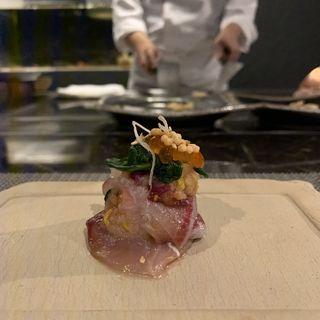 前菜(鉄板焼き 燈 AkaRi)