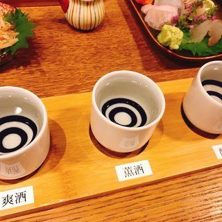 刺身盛合せ(日本酒バル Chintara)