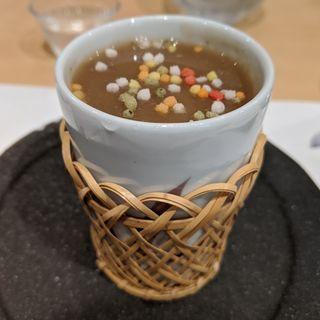 岩手県大船渡産牡蠣の茶碗蒸し(日本料理 秀たか)