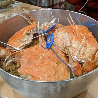 蟹ご飯(日本料理 秀たか)