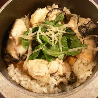 牡蠣の釜飯(居酒屋 かまどか 池上店 )