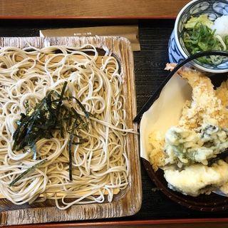 天ぷらざる蕎麦(ぎお門 (ぎおもん))