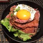 ローストビーフ丼(並)