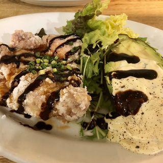 チキン南蛮withアボガドタルタルソースプレート(マドッシュ!カフェ (madosh!cafe))