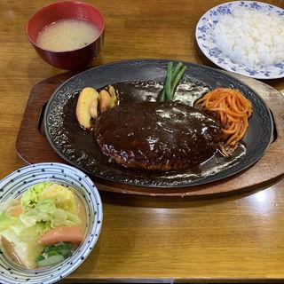 ビッグハンバーグ定食(ハンバーグ支倉 泉崎 )