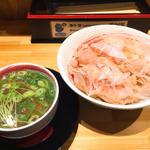 追い鰹の塩つけ麺(麺や 凛)