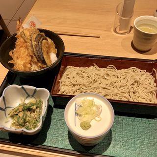 合せ膳〈丼+そば・うどん+小鉢〉(外苑前 増田屋 )