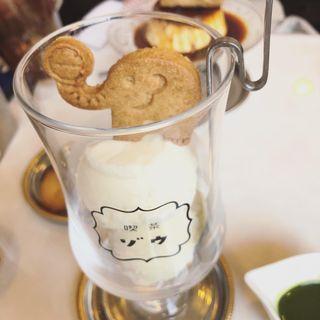 アフォガート抹茶(喫茶ゾウ)