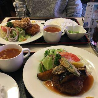 和風ハンバーグステーキ 揚げナス&おろし(キッチン Oh!Way (キッチンオーウェイ))