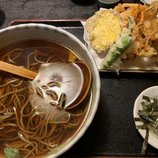 野菜天蕎麦(楽庵 (らくあん))