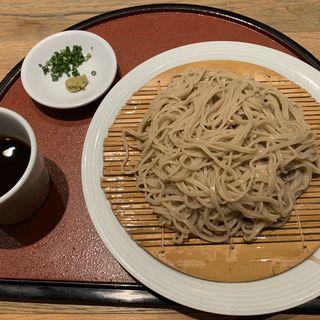 盛り蕎麦(十割そば素屋店屋町店)