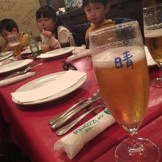 生ビール(orizzonte)