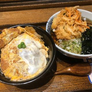 かつ丼セット(しぶそば 青葉台店)