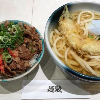 牛丼とうどん(麺散)