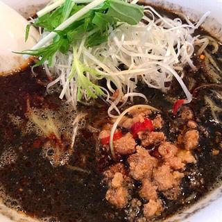 黒担々麺(麺家 烈 安城美園店 (メンヤ レツ))