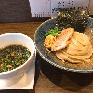 北海道 美瑛産小麦『春よ恋』で作る新麦つけ麺 ver.1(小麦と大豆 自家製麺 麺や ひなた)