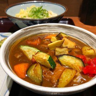 ごろごろ野菜のカレーライスセット(noo-don ヌウドン 用賀SBS店)