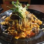 汁なし坦々麺(中国四川料理 錦水苑)