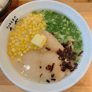 鶏バターラーメン(らぁめん専門さだ)