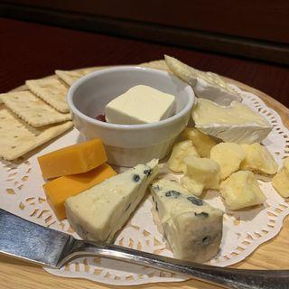 チーズの盛合わせ(銀座ライオン 銀座クラシックホール)