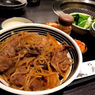 仔虎の牛丼ランチ(仔虎 エスパル店 (コトラ))
