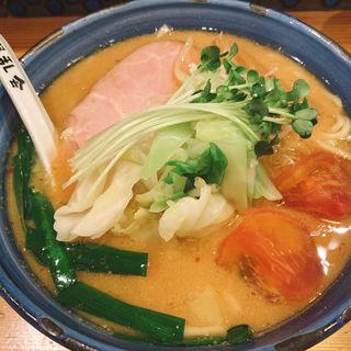 味噌ラーメン(自家製麺 啜乱会)