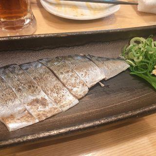 炙りしめ鯖(魚頂点酒場まつり)