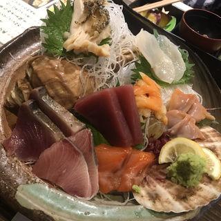 貝魚刺五点盛り(貝だらけ )