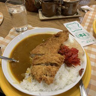 カツカレー(辛口)(カリーハウス コロンボ )