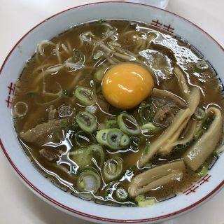 中華そばとヨード卵(いのたに 本店 )