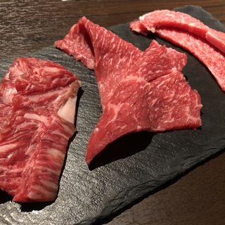 本日のお肉3種盛り合わせ(焼肉 じゅん)
