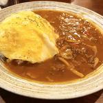 赤味噌オムハヤシライス