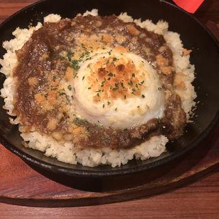 カリフラワーライスの焼きカレー(プロント 大手町カンファレンスセンター店)