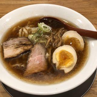 喜多方らーめん(醤油)(麺や七彩)
