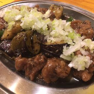 ラムのクミン炒め(マルイチ商店)