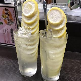 凍結丸ごとレモンサワー(ふくふく)