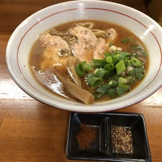 仙台味噌の中華そば(醤油と貝と麺 そして人と夢 )