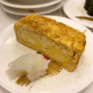 厚焼き玉子(回転寿司 たいせい 府中本店)