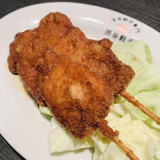 豚ロースの薄皮串カツ(渋谷餃子 恵比寿店 )