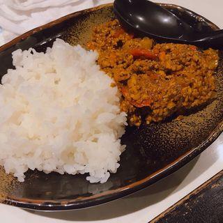 ハーフキーマカレー(蘭丸)