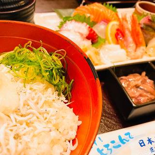刺身定食(庄や 新大阪店 (しょうや))