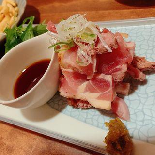 鶏たたき(コチソバ )