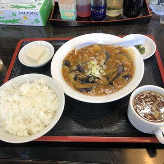 麻婆茄子定食(南京亭 新青梅街道店 )